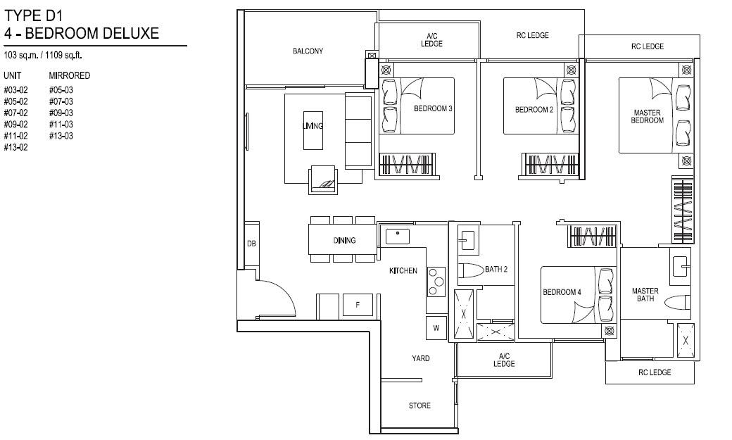iNz Residence EC 4 Bedroom Deluxe