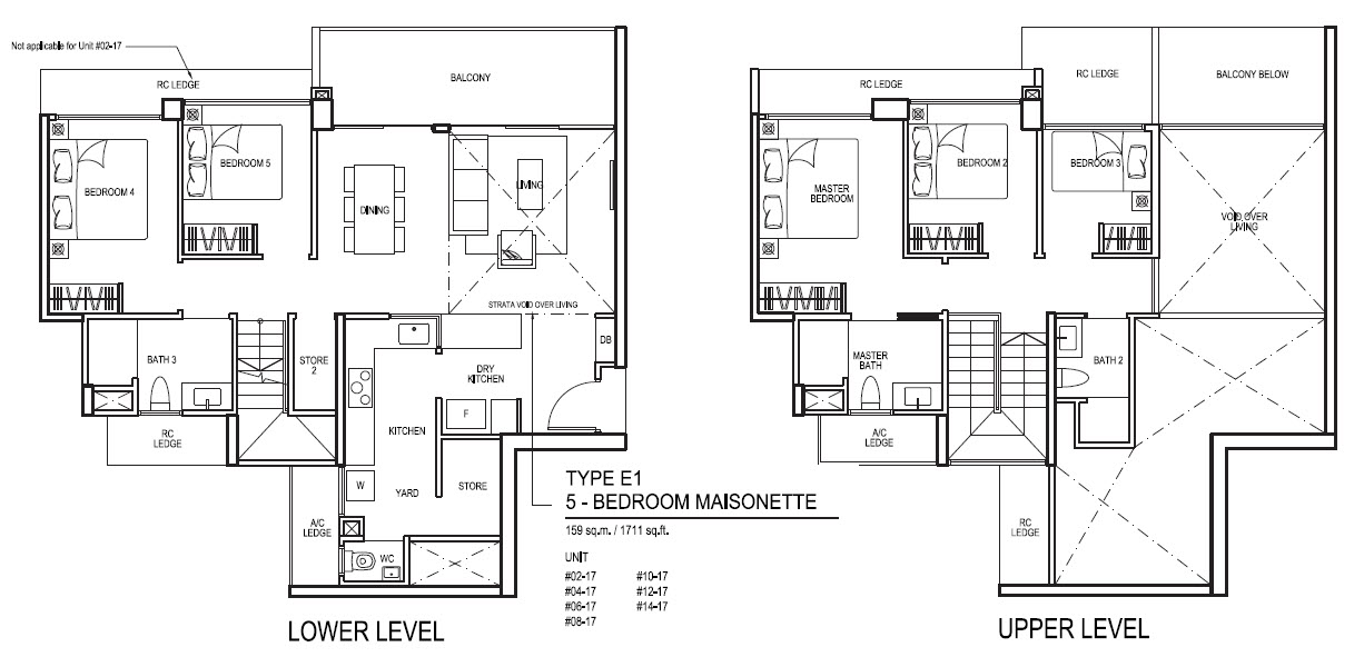5 Bedroom Maisonette